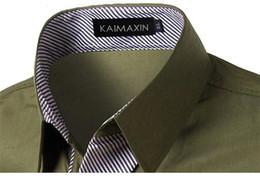 Korean Shirts Designs Australia - TUNEVUSE Mens shirts Camisa Masculina Long Sleeve Shirt Men Korean Slim Design Formal Casual Male Dress Shirt Size M-4XL 8012