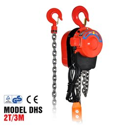 $enCountryForm.capitalKeyWord Australia - New Portable lifting series Electric chain Hoist Chain electric block DHS 2T3M