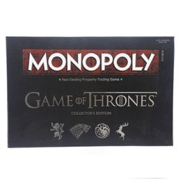 $enCountryForm.capitalKeyWord Australia - paper cards of Game of Thrones 8 role-playing cards game Jon Snow cosplay prop monopoly flight chess board games party holiday toys&gift