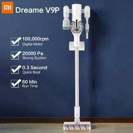 (Presale)Dreame V9P Handheld Cordless Vacuum Cleaner Protable Wireless Cyclone 120AW Strong Suction Carpet Dust Collector for xiaomi on Sale