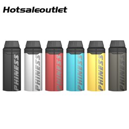 battery light kit NZ - Phiness Shaka Pod System Kit 380mAh Built-in Battery 1.5ml Pod Cartridge Comfortable Leakproof Design Exceedingly Light And Straight Compact