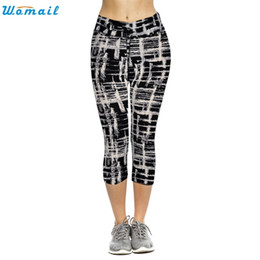 $enCountryForm.capitalKeyWord NZ - Womail Print Woman Girls Jogging Yoga Running Pants Gifts Mallas Mujer Deportivas Sports High Waist Fitness Cropped Leggings 1PC #604078
