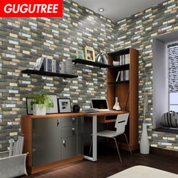 $enCountryForm.capitalKeyWord Australia - Decorate home 3D black brick cartoon art wall sticker decoration Decals mural painting Removable Decor Wallpaper G-2586