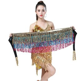$enCountryForm.capitalKeyWord Australia - Cinturones Para Mujer Belts For Women hot sale striking belly dance hip scarf sequins and shining
