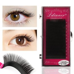 individual mink 14mm eyelashes NZ - 12 lines Individual 8-14mm Faux Mink Eyelashes Volume Lashes B,C,D Curl Full Size Soft Natural Long Extension Makeup Lashes