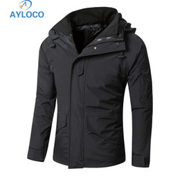 waterproof thermal jackets 2019 - G8 Winter Men Thermal Thick Tactical jacket Coat Waterproof Jacket Camouflage Windbreaker cheap waterproof thermal jacke