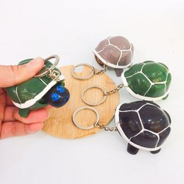 turtle charm green Australia - 2019 New Retro Mini Decoration Cute little Turtle Key Chain Tour of Paris Eiffel Tower Key Chain Seat Female Bag Charm
