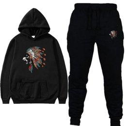$enCountryForm.capitalKeyWord Australia - Men's Lion Head Design Print Fleece Hoodie Sweatshirts Winter Unisex Hip Hop Swag Sweatshirts Hoodies Men Women Suit Couple Wear