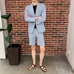Urban Clothes For Men Australia - Men's suit 2019 season suitable for new refreshing solid color long-sleeved M-3XL urban casual youth fashion men's clothing