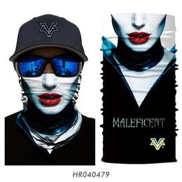Cosplay tube online shopping - D Marvel Tube Buff Neck Gaiter Superhero Cosplay Face Mask Cycling Braga Cuello Windproof Seamless Headband