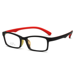 $enCountryForm.capitalKeyWord UK - Rectangle Ful-Rim TR90 Soft Silicone Short Sight Shortsighted Eyeglass Frame Lightweight 13g plain glass spectacles for Kids Children S3008