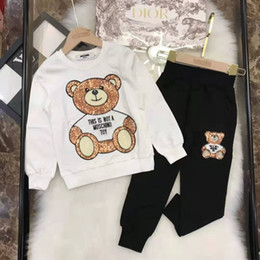 Wholesale new clothing low price online – design Low price Sales Autumn and winter new style brands designer style boy and girl clothes Luxury Kids Clothing Sets popular Top brands Free Shi