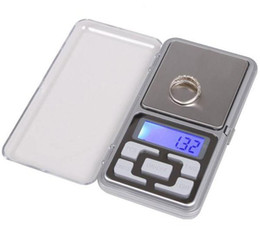 digital herb scale Australia - Digital Scales Digital Jewelry Scale Gold Silver Coin Grain Gram Pocket Size Herb Mini Electronic backlight 100g 200g 500g fast shipment