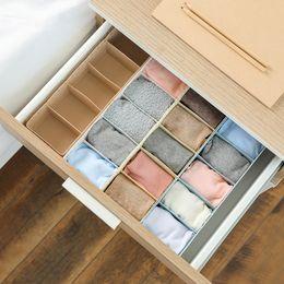 $enCountryForm.capitalKeyWord Australia - 5 Grids Women Bra Underwear Socks Hollow Storage Boxes Wardrobe Closet Drawer Organizer For Scarfs