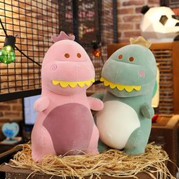 free boy toy Australia - 20170723 New Year Hot Sale Cute Spoof Plush Toy Dinosaur Pillow Doll For Boys Gifts Of Free Shipping