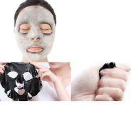 $enCountryForm.capitalKeyWord Australia - 6box Natural Detox Oxygen Charcoal Bubble Black Sheet Mask Oil Control Face Mask Blackhead Removal Facial Mask Korean Skin Care