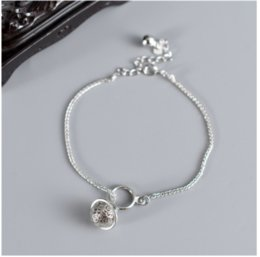 sterling silver bells NZ - s925 sterling silver new bracelet female ins bell temperament simple wild bracelet fashion personality cool bracelet