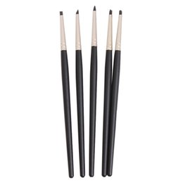 pen clay Australia - 5pcs set Silicone Brush Pen Icing Cake Decorating Shaping Fondant Shapers Polymer Clay Sculpting Modelling Tool Styling