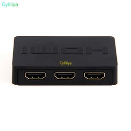 3x1 HDMI Splitter 3 Port Hub Box Auto Switch 3 In 1 Out Switcher 1080p HD 1.4 With Remote Control for HDTV XBOX360 PS3 on Sale