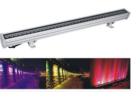 $enCountryForm.capitalKeyWord Australia - Outdoor lighting IP65 aluminum housing 36x3w led wall washer light fixture RGB color changing 3 in1 waterproof led strip wall washer