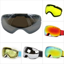 $enCountryForm.capitalKeyWord Australia - Double-layer Anti-glare Lenses Ski Night Vision Goggles Mask Lens Anti-fog Snowboard Winter Snow Sports Skiing Lens