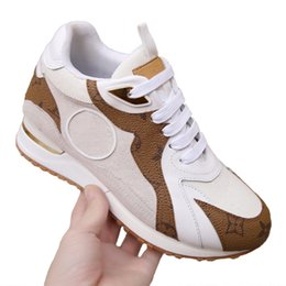 sneakers size 42 Australia - 2020 Now High Quality Women Fashion Luxury Designer Shoes Sneakers Womens Running Shoes Run Away Sneaker Casual Shoes Size 35-42 Type5