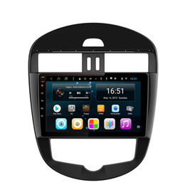 build multi touch screen Australia - Android car player with GPS Resolution HD 1024 * 600 multi-touch screen bluetooth lossless music for Nissan new tiida Automatic AC 9inch