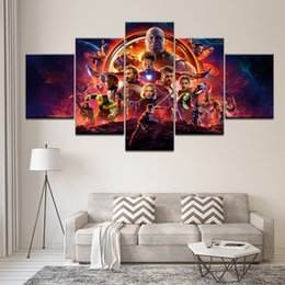 marvel art prints NZ - 2018 hot Movie marvel avengers Infinity War poster Canvas print painting Home Decoration wall art picture for living room