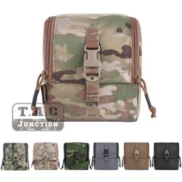 Military Style Packs Australia - Emerson Tactical MOLLE CP Style Military GP Pouch EmersonGear Hunting Hook&Loop Utility Accessories Bag Multicam #257920