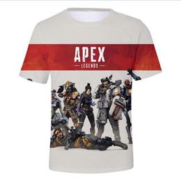 T Shirt Digital Printing Sport Australia - Men's T-Shirts game Apex Legends3D digital printing men t-shirt Street sports hip-hop loose men and women tee