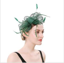 $enCountryForm.capitalKeyWord Australia - Butterfly knot headdress European and American banquet bride high-grade feather headdress Hairband