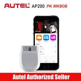 $enCountryForm.capitalKeyWord Australia - Autel AP200 Bluetooth OBD2 Car Scanner Automotive Diagnostic Tool DIY Code Reader Autoscanner for IOS Android PK Maxicom MK808