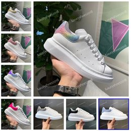 $enCountryForm.capitalKeyWord Australia - 2019 Luxury Women Mens Casual Shoes Sneakers Name Branded Leather Suede Platform Oversized Sole Sneakers Shoes Dress Walking White Chaussure