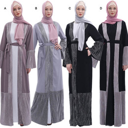 $enCountryForm.capitalKeyWord Australia - Abaya Turkish Robe Islamic Clothing Women Kimono Fashion Muslim Long-sleeved Loose Large apparel