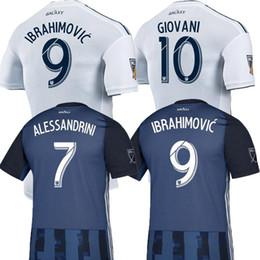 Thailand Shirts Australia - NEW 19 20 IBRAHIMOVIC LA Galaxy jersey soccer Thailand Los Angeles Galaxy GIOVANI COLE ALESSANDRINI CORONA football kit top shirts 2019 2020