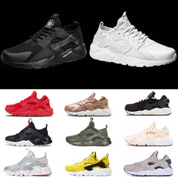 2a07cdf351aa5 White Huarache Trainers NZ - Ultra Huarache 1.0 4.0 Running Shoes Men Women  Top Quality Stripe
