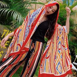 $enCountryForm.capitalKeyWord Australia - 2019 Summer cotton and linen national wind scarf sunscreen shawl long silk scarf female Nepal scarf shawl seaside beach towel