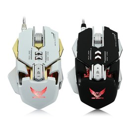 83dbad79406 Ergonomic Mechanical Game Mouse 3200DPI USB Wired Competitive Gaming Mouse 7  Programmable Buttons backlight for LOL Computer PC