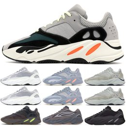 2aaa6bd3 700 Wave Runner Mens Running Shoes Inertia Mauve Designer Sneakers New 700  V2 Static 2019 Kanye West Sport Shoes With Box 5-11.5