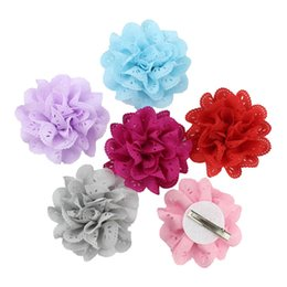 $enCountryForm.capitalKeyWord Australia - 16 Color Tiny Hollowed out flowers Hair Clips Cute Baby Little Girl Hairpins Princess Headwear Hair Accessories Pink