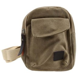 wholesaler bicycles Australia - FGGS Men's Casual Small Canvas Vintage Shoulder Crossbody Bicycle Bag Messager bags