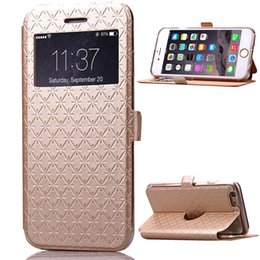 Card Inserts Australia - Leather Cell Phone Cases for iphone6  iphone6s plus mobile phone bag sleeve creative insert card covers the cover Card Pocket