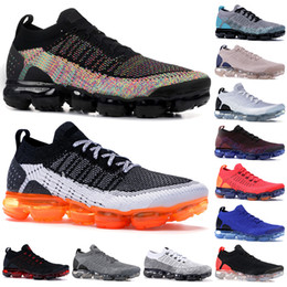 Discount dark jade - Top Quality Knit 2.0 Running Shoes Men Women Black Dark Grey Jade Tiger Orca Triple Black Be True Mens Designer Shoes
