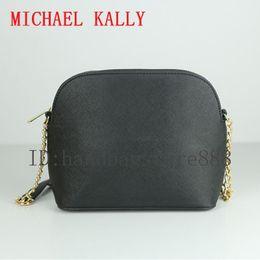 China Woman luxury Designer MICHAEL KALLY handbag famous crossbody chain shell bag PU leather summer beach bag lady should tote message bag purse suppliers