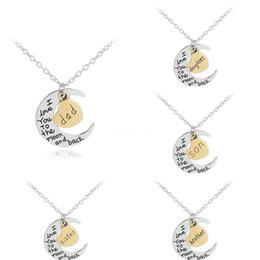 love hearts angels wings Canada - Fashion Jewelry Angel Wings Diamond Letter Love Necklace Pendants Crystal Gold Silver Necklace Jewelry Heart Pendant Necklace For Women#759