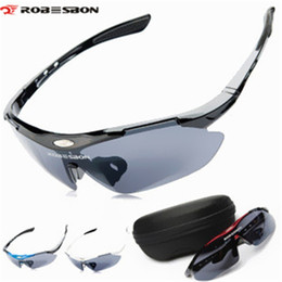 Bike Glasses Women Australia - ROBESBON Outdoor Sports Men Women Bicycle Glasses Goggle Sport Sunglasses Glasses Cycling Bike 4 color Snowmobile Glass #123510