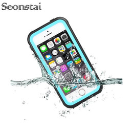 $enCountryForm.capitalKeyWord Australia - Original For iphone SE Waterproof Case Life Water Proof Diving Protection Case for iPhone 5 5s 4.0 inch Cover with Fingerprint