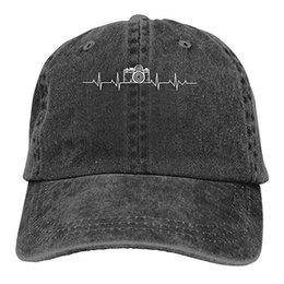 $enCountryForm.capitalKeyWord NZ - 2019 New Designer Baseball Caps Print Hat Camera Heartbeatvv Mens Cotton Adjustable Washed Twill Baseball Cap Hat