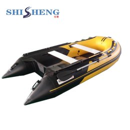 Wholesale good quality 1.2mm PVC inflatable boat rubber fishing boat on Sale