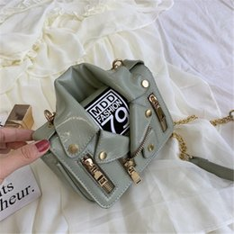 creativity bag Canada - Designer luxury shoulder bag women Individuality creativity small group new trend all-around messenger bag chain fashion shoulder bag 4